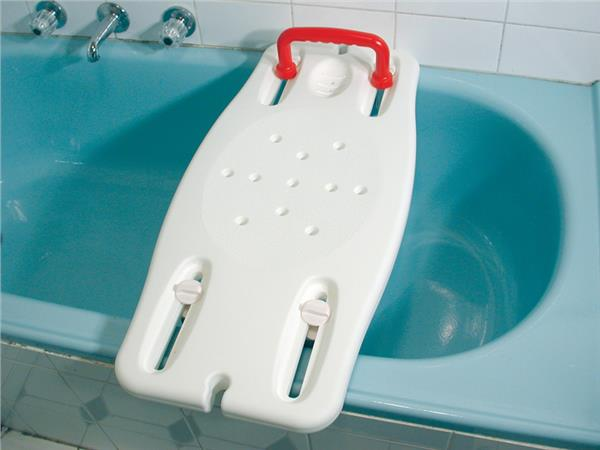 Plastic Bath Board With Rail For Elderly Seniors