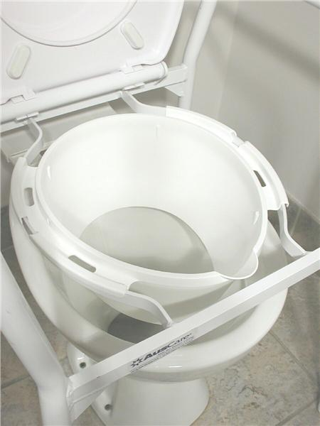 Splash Guard for Over Toilet Aid Product Code NOV-8560-B01 ...