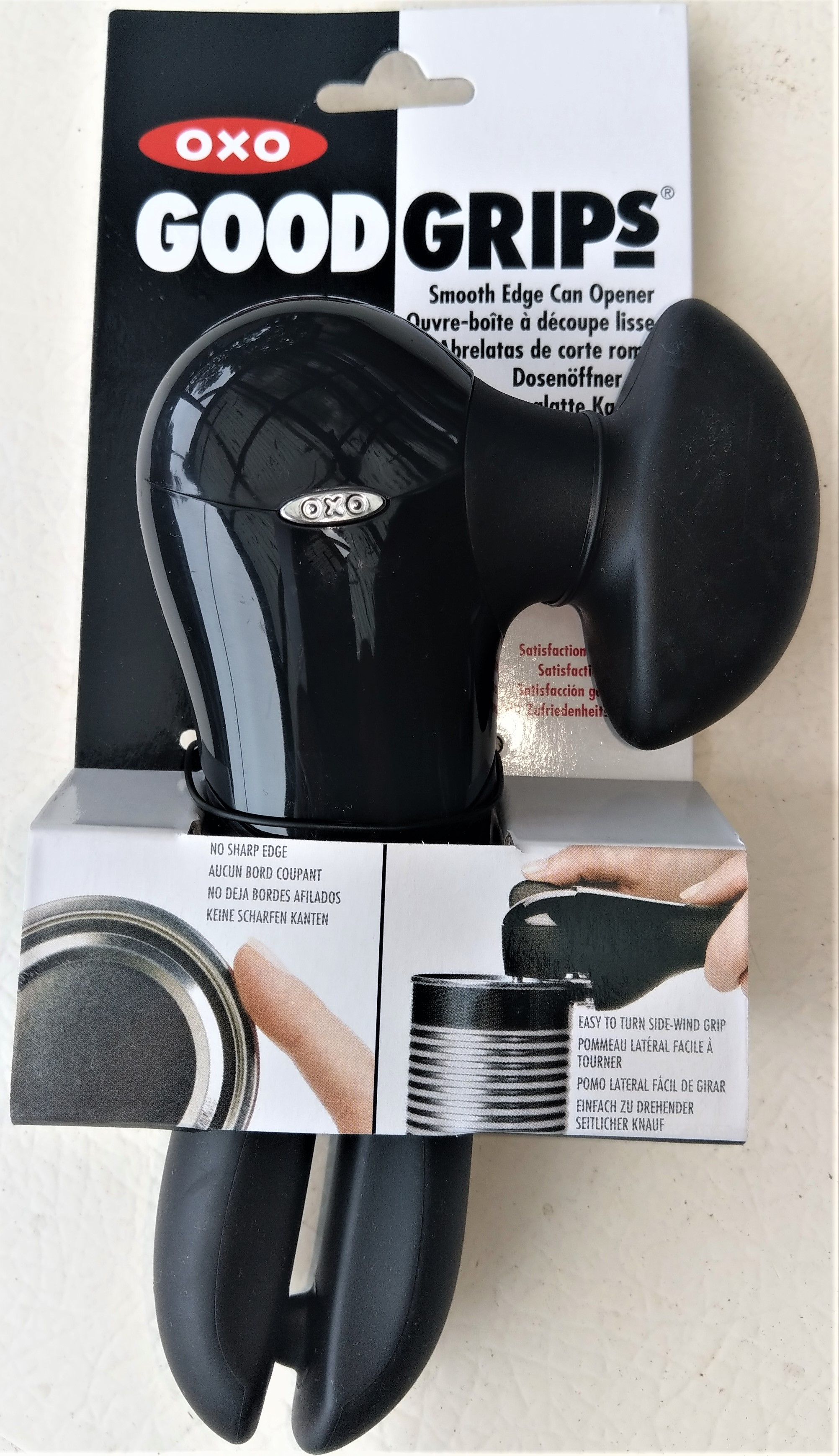 Can Opener OXO Good Grips Smooth Edge Product Code 1049953