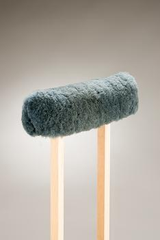 Sheepskin Top for crutches.  Product Code 302ST