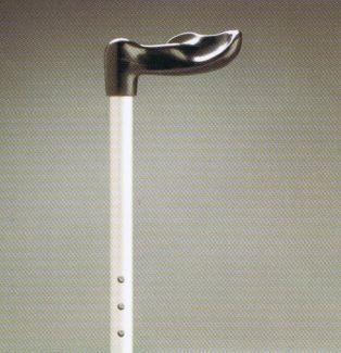 Adjustable Walking stick - Right Hand Fisher anatomically contoured Handle.  Product Code 705R