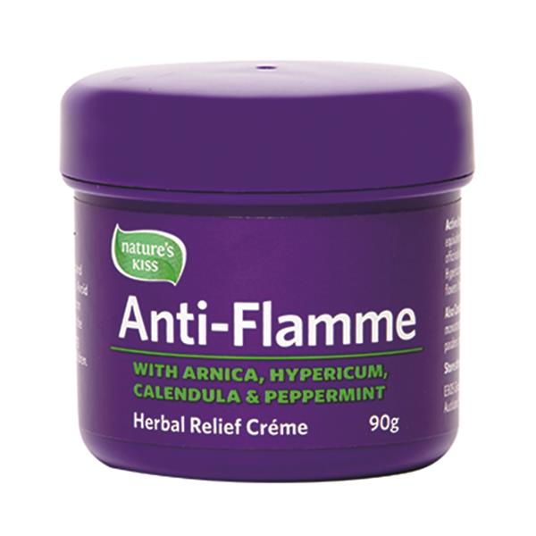Anti-Flamme Original Herbal Relief Cream 90g Tub Product Code EBO-JAL90G