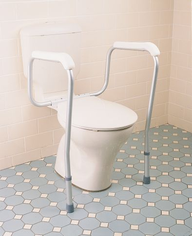 Toilet Safety Arms Care Quip. Product Code B1013