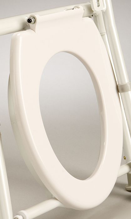 Overtoilet Aid Seat White. Product Code B4015PTS