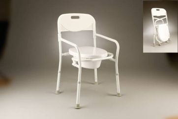 Bedside toilet commode folding Product Code B4064