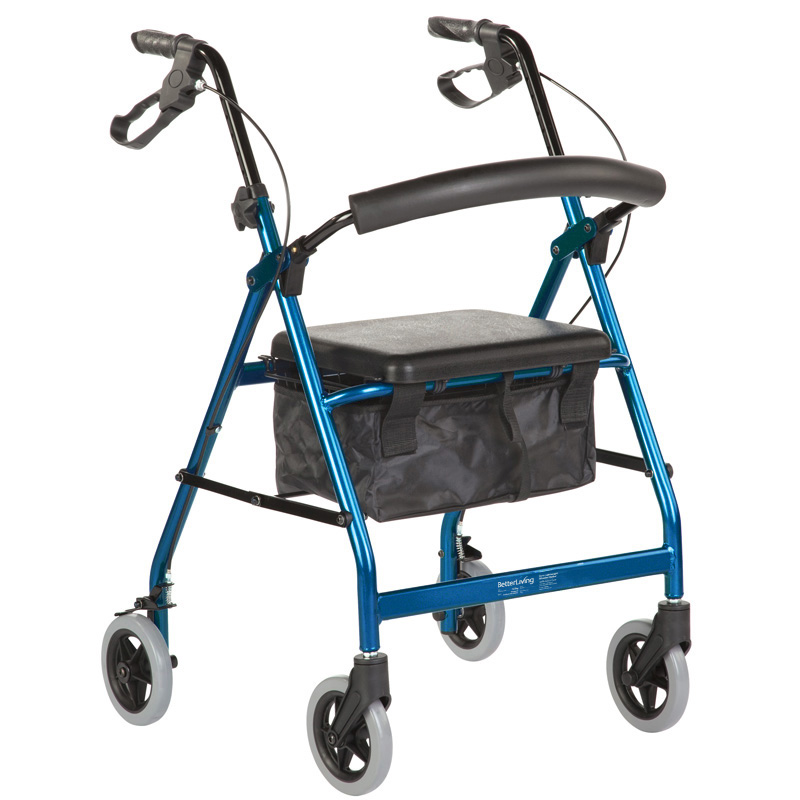 Seat walker Smooth Glide Wheeled Standard Blue Product Code BL5155