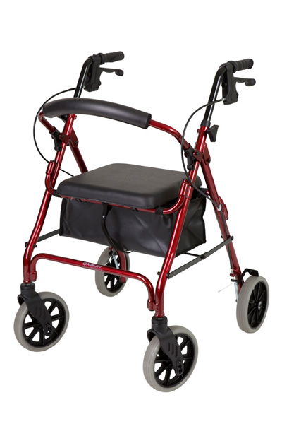Seat walker Days Standard with Vinyl Bag RED only Product Code DAYS V4206-22