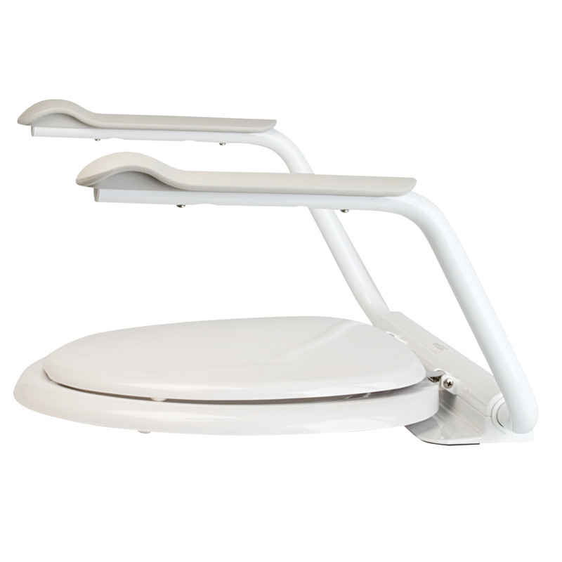 ETAC Supporter Toilet Arm Supports - Toilet Seat with Arms.