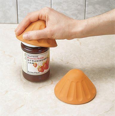 Twister Jar Opener Door Knob Gripper Designed For One Or