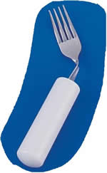 Queens Cutlery Right Angled Fork.  Product Code AA5511RA