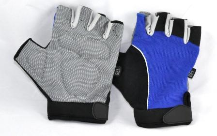 Wheelchair Gloves Half Finger Large 2 pairs pack.  Product Code 3804C X 2