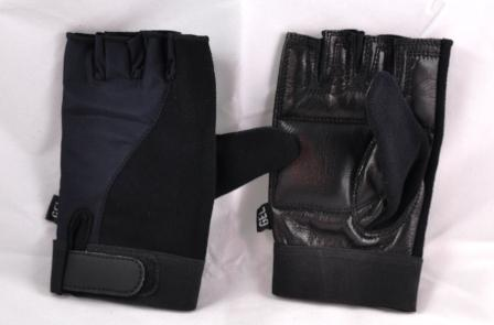 Wheelchair gloves half finger Artificial Leather Extra Large-size Pack of 3.  Product Code 3805AL X 3