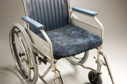 Wheelchair Sheepskin Cover Seat 55 Product Code SG28AL-Seat55