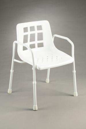 Shower Chair with Arms Height adjustable Product Code B4002