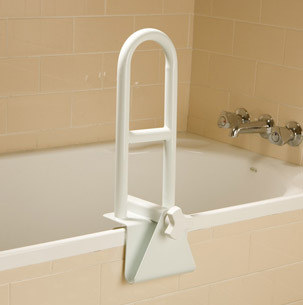Bath Tub Mounted Grab Rail. Product Code 8220