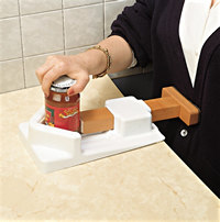 One handed jar and bottle opener Belly Clamp Product Code AA5090