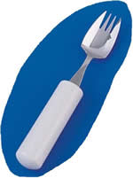 Queens Cutlery Splayed Fork.  Product Code AA5507A