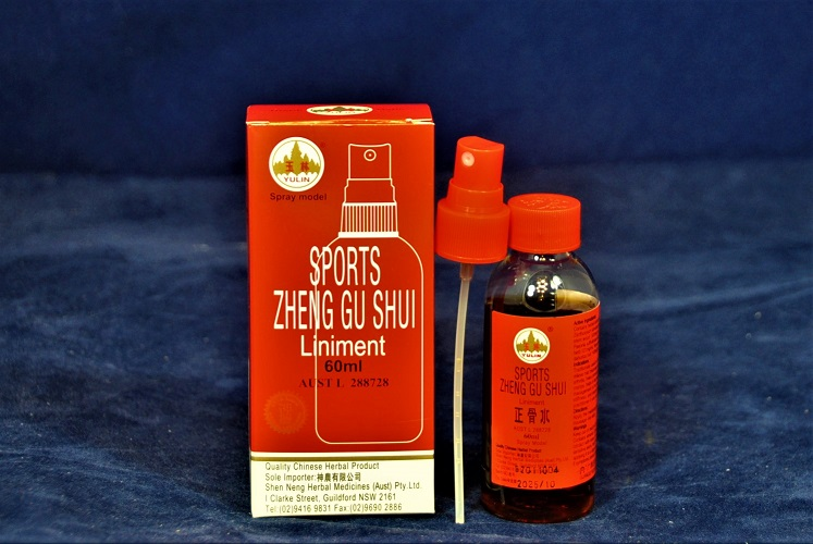 Natural remedy arthritis pain relief medication-ZHENG GU SHUI - 60 ml Spray. Product Code PR-02