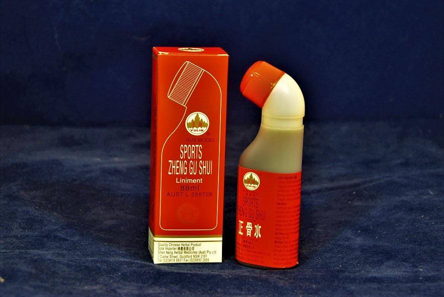 ZHENG GU SHUI - Pain relief remedy liniment 88 ml bottle roll-on. Product Code PR-03