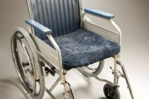 Wheelchair Sheepskin Cover Seat 49 Product Code SG28AL-Seat49
