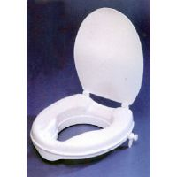 Raised Toilet Seat Savanah 50 mm with Lid. Product Code AA2112L