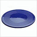 Dycem Matting - 190mm diameter- Blue. Product Code aa6812B
