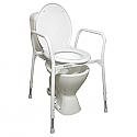 Homecraft Aluminium Over Toilet Frame with Seat Product Code NOV-AC02A or AUSBAT70067