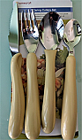 Caring Cutlery Set Tea Spoon.  Product Code 55700YT