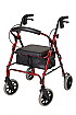 Seat walker Days Low Seat with Vinyl Bag Red only Product Code DAYS V4206-18