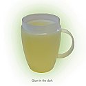 Thermo Mug Glow in the Dark Ornamin. Product Code 5124