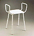 Shower Stool Padded with Arms K-Care Product Code B1001A