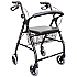 Seat walker Budget Rollator Better Living  Product Code BL7388