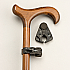 Walking stick and Crutch Holder - The Frog. Product Code L730