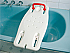 Plastic Bath Board with Rail Standard. Product Code BAT68071