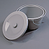 Bucket and Lid for Etac Kaskad Freestanding Toilet Seat Product Code Etac-80302026