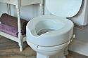 "Raised Toilet Seats - ""Serenity"" 50 to 150 mm Product Code AF0280 - AF0340"