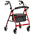 Seat walker Smooth Glide Wheeled Standard Red Product Code BL1089
