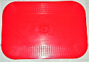Dycem Matting - 180mm x 250mm Red 2mm thick Product Code 091103043