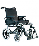 "Breezy BasiX Transit Wheelchair 20 x 18 "" Product Code S2458"