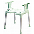 Swift Shower Stool with Armrests. Product Code ETAC-81701020